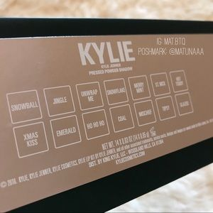 Kylie Cosmetics Makeup - Kylie Cosmetics The Naughty Eyeshadow Palette